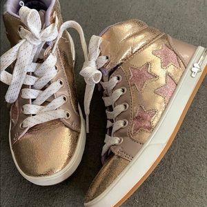 SKECHERS Rose Gold Sneakers